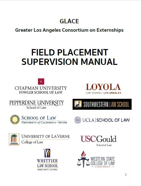 GLACE Supervisors Manual 2017