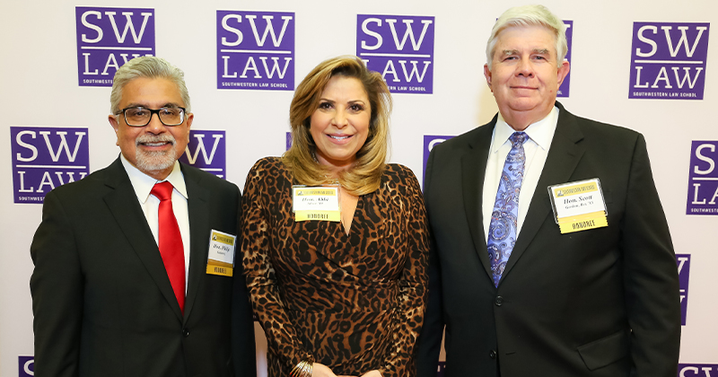 Image - Honorees of the Annual Judges Reception 2020