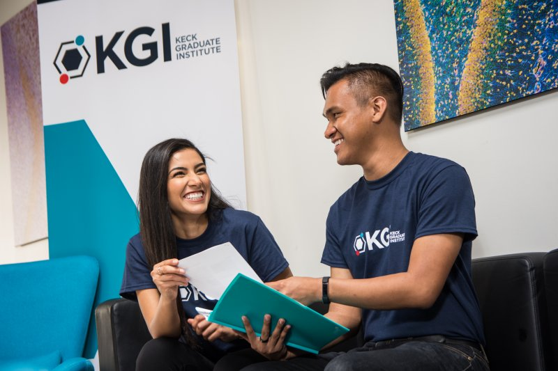 Image - Students at Keck Graduate Institute School of Applied Life Sciences (KGI)