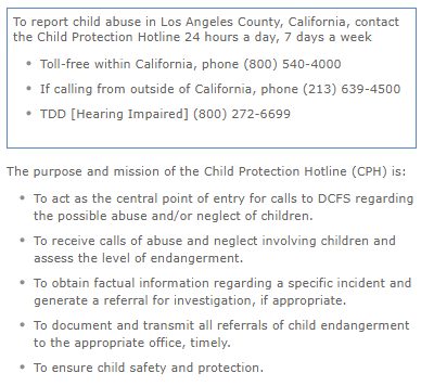 BLOG Image - LA County Reporting Child Abuse