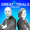 Image - Great Trials Podcast logo