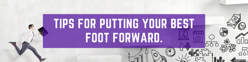 Image - Tips for Putting Your Best Foot Forward