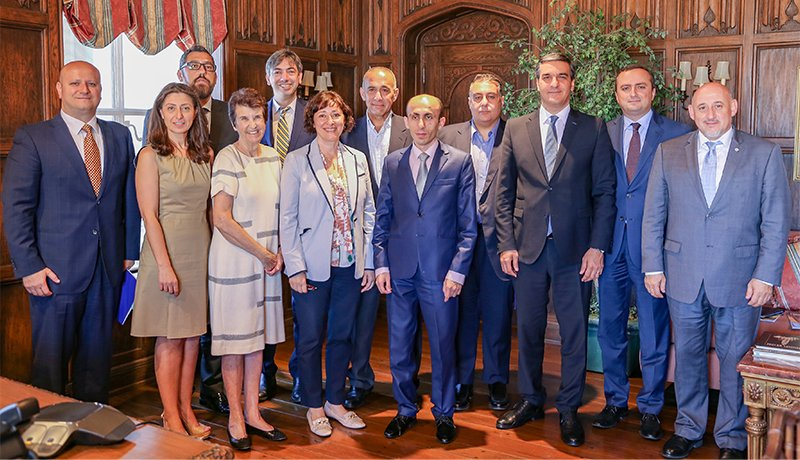 Image - Dignitaries from Republics of Armenia and Artsakh