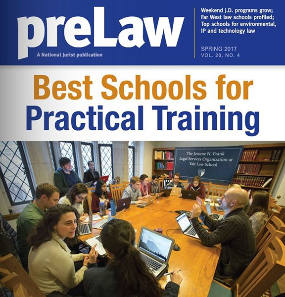 PreLaw Magazine Ranks SW Tallest Law School