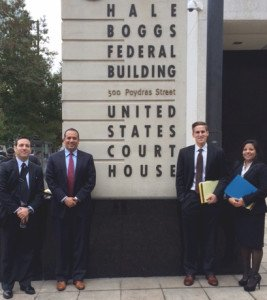 Southwestern Earns Second Place Brief at 21st Annual Tulane Mardi Gras Sports Law Invitational Moot Court