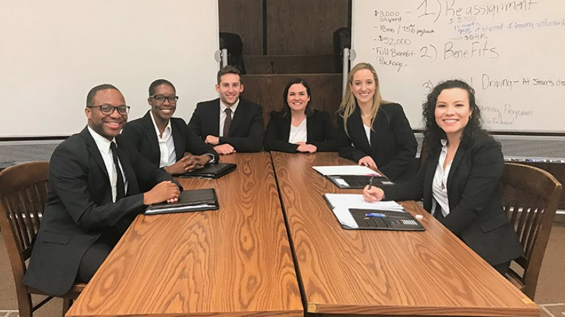 Image - NHP at ABA Regional Negotiation Competition