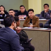 Image - ELAC Students at the LSAC Discover Law event at Southwestern Law School
