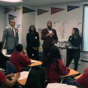 Diversity Pipeline Event at USC Hybrid High School -2