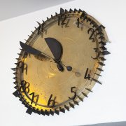 Clock in entryway