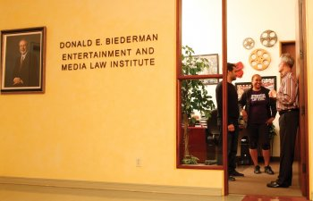 Southwestern Law School's Biederman Institute, on of the world's top Entertainment and Media Law Programs