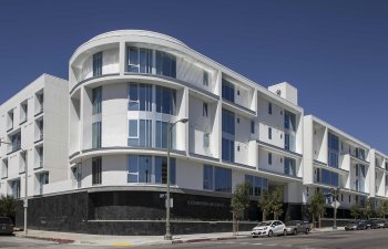 Southwestern Law School's Beautiful Student Residences at 7th in Los Angeles California