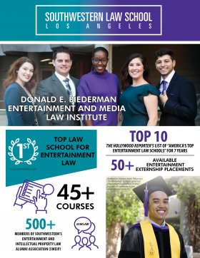 Image -Donald E. Biederman Entertainment and Media Law Institute Flyer