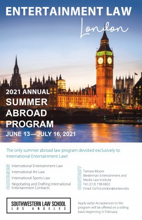 Image - London Study Abroad 2021 Flyer
