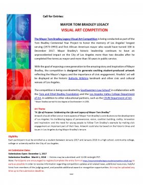 Bradley Call for Entries