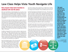 Law Class Helps Vista Youth Navigate Life