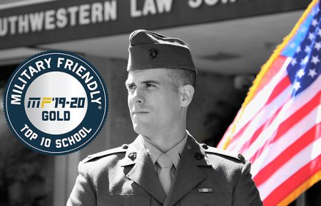 Image - Southwestern Law School Designated Military Friendly Top 10 Graduate School