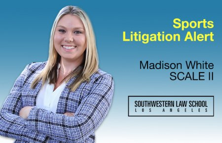 Image - Madison White in Sports Litigation Alert