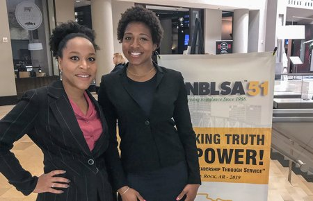 Image - NBLSA Winners Syrita Morgan and Jasmine Lewis
