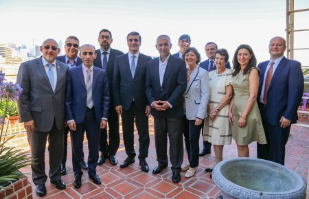 Armenian Bar Association and Armenian Government Dignitaries