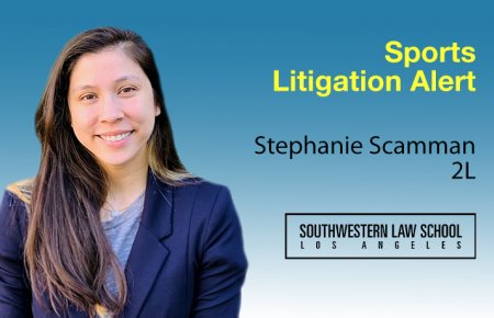 Image - Stephanie Scamman Sports Litigation Alert