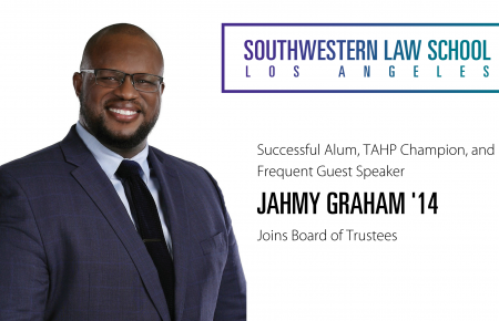 Jahmy Graham '14 joins SWLAW board