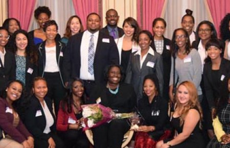 BLSA honors Nyree Gray '99, Chief Civil Rights Officer/Title IX Coordinator at Claremont McKenna College, as the 2016 Outstanding Alumna of the Year