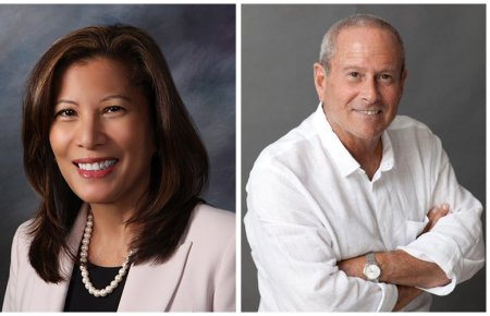 Chief Justice Tani Cantil-Sakauye & Tom Hoberman