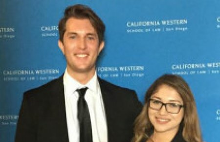 Nolan Scarr and Bianca Martinez win Second Place at ABA Regional Negotiation Competition