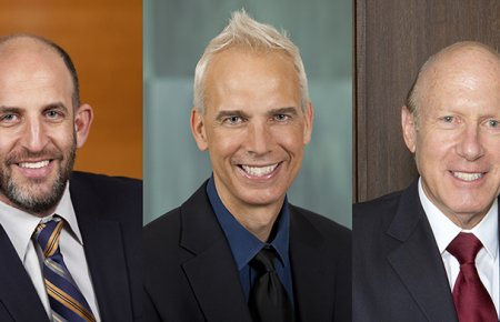 Professors Dov Waisman, John Heilman, and Edward Stark Receive 2017 Excellence in Teaching Award