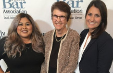 Lauren Fierro and Monique Moncayo awarded scholarships from Beverly Hills Bar Foundation