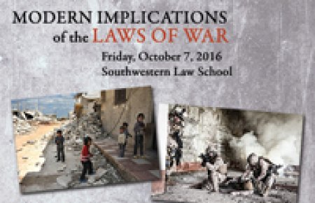 Modern Implications of the Laws of War symposium 2016
