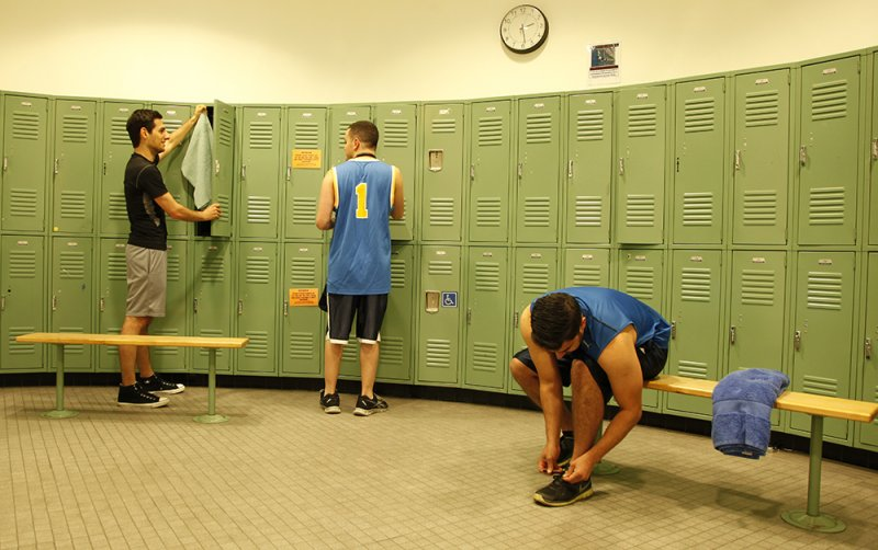 Fitness Center Locker Room